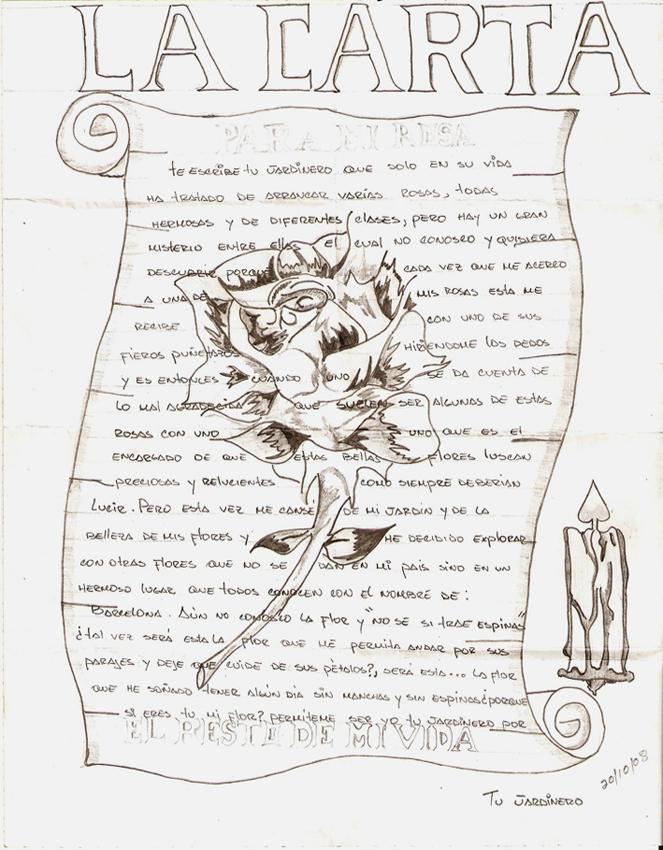 The winner love letter