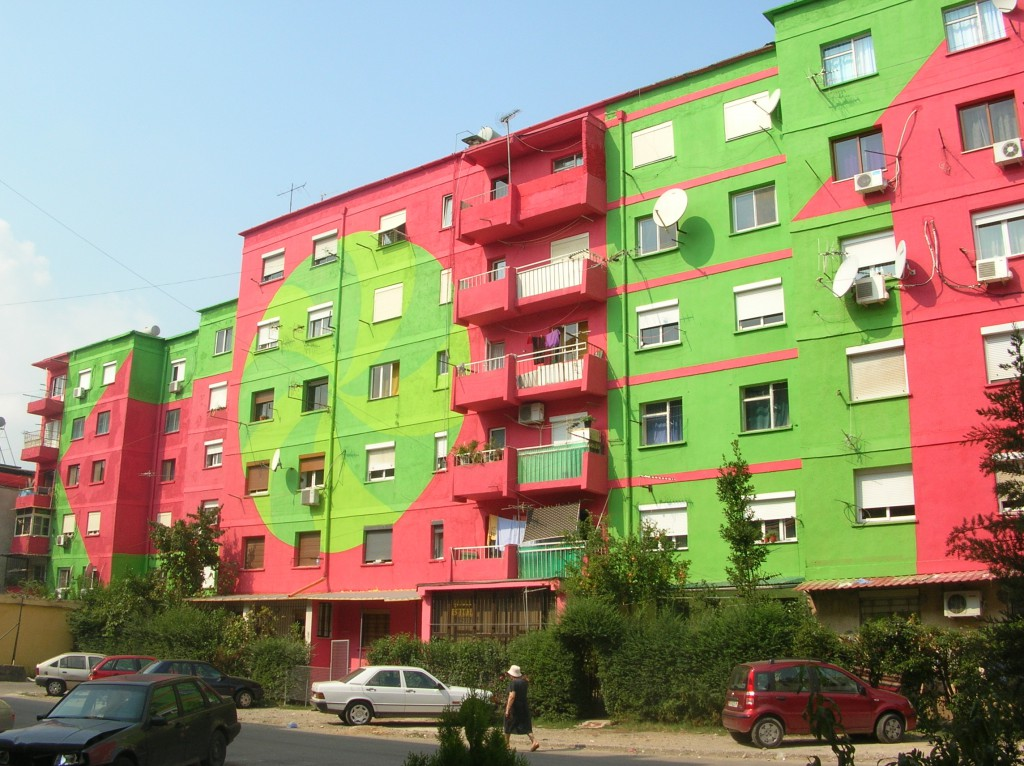 Project for the Tirana Facades, 2009