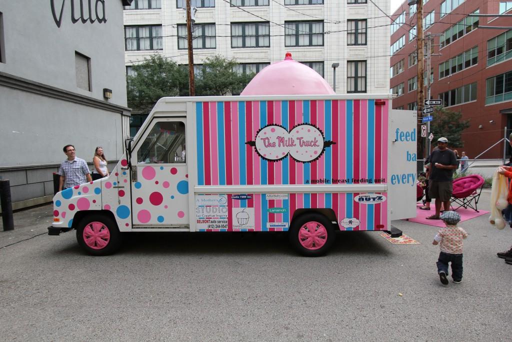 Jill Miller, The Milk Truck, 2011