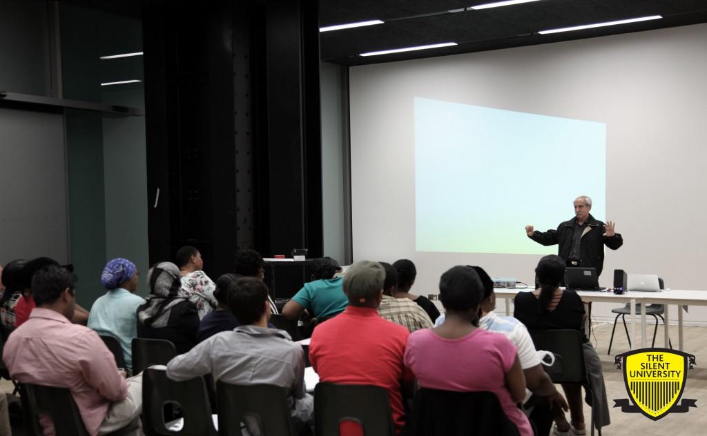 Ahmet Ögüt, The Silent University, 2012