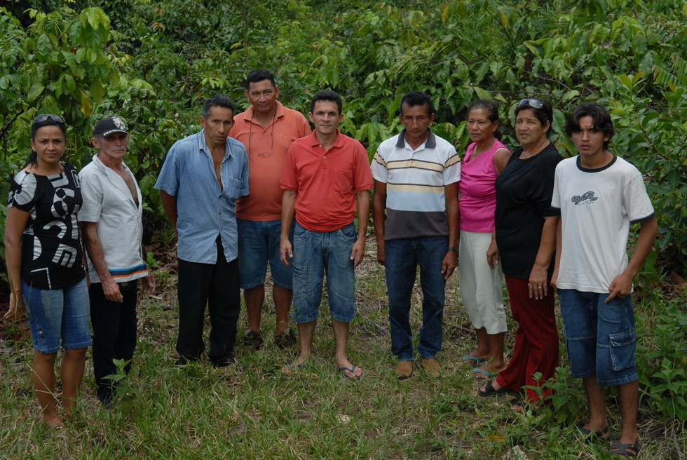 The Guaraná farmers from Maues. Photo: Superflex