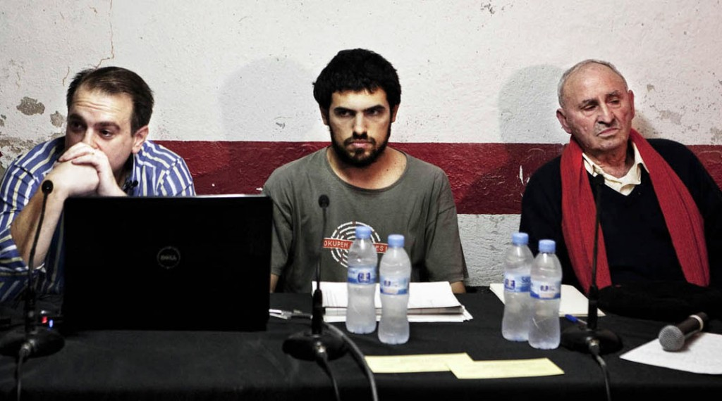 Núria Güell, Aplicación Legal Desplazada #1: Reserva Fraccionaria, 2010 - 2011.