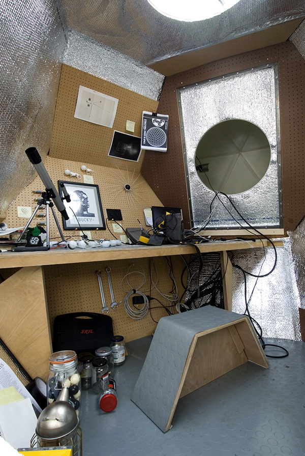 Neal White and N55, Space on  earth station,  2006