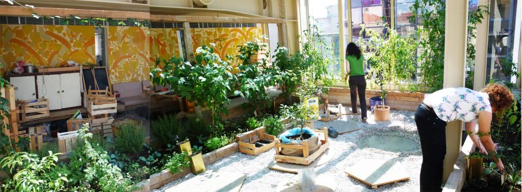 SALT, Fritz Haeg, November Paynter, Edible Estate #11: Istanbul, Turkey, 2011