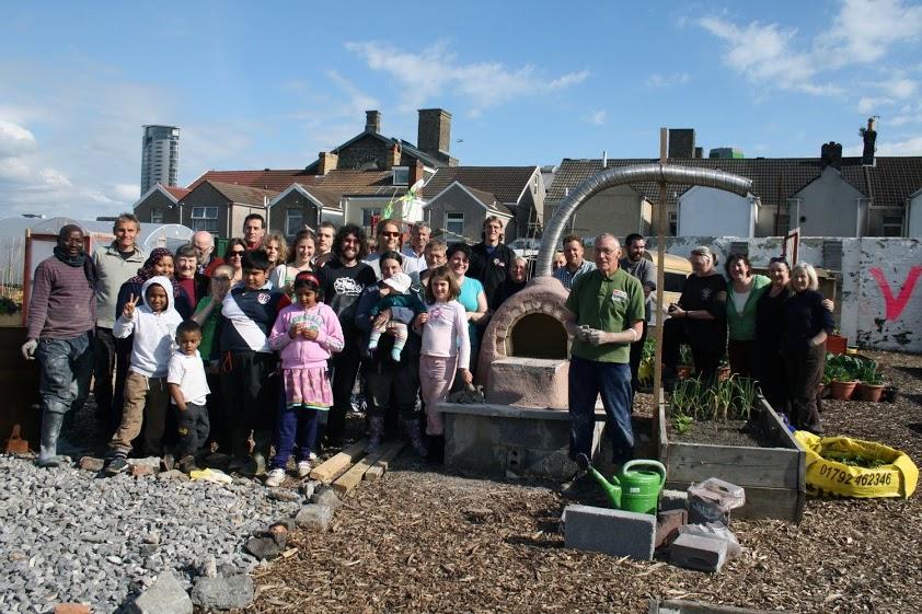 Owen Griffiths, Vetch Veg Community Garden, 2011